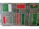 Part No: tplan08  Name: Town Plan Board, Cardboard British/Australian Version (50 1/2cm x 79 1/2cm) - Set 200