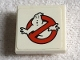 Part No: 11203pb037  Name: Tile, Modified 2 x 2 Inverted with Ghostbusters Logo Pattern (Sticker) - Set 75827
