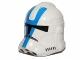 Part No: 11217pb01  Name: Minifigure, Headgear Helmet SW Clone Trooper with Blue 501st Legion Pattern
