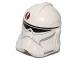 Lot ID: 170795466  Part No: 11217pb10  Name: Minifigure, Headgear Helmet SW Clone Trooper with Dark Red Emblem Pattern
