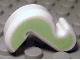 Part No: 15429pb02  Name: Cat Tail with Yellowish Green Sides Pattern