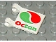 Part No: 2335px13  Name: Flag 2 x 2 Square with Octan Logo Pattern