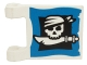 Part No: 2335px21  Name: Flag 2 x 2 Square with Skull and Cutlass Pattern