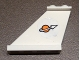 Part No: 2340pb061L  Name: Tail 4 x 1 x 3 with Modified Classic Space Logo Pattern on Left Side (Sticker) - Set 7644