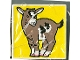 Part No: 2756pb007  Name: Duplo Tile 2 x 2 x 1 with Goat Mosaic Picture 07 Pattern (Set 1078)