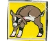 Part No: 2756pb009  Name: Duplo Tile 2 x 2 x 1 with Goat Mosaic Picture 09 Pattern (Set 1078)