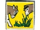Part No: 2756pb011  Name: Duplo Tile 2 x 2 x 1 with Goat Mosaic Picture 11 Pattern (Set 1078)