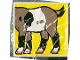 Lot ID: 55723114  Part No: 2756pb012  Name: Duplo Tile 2 x 2 x 1 with Goat Mosaic Picture 12 Pattern (Set 1078)