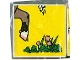 Part No: 2756pb018  Name: Duplo Tile 2 x 2 x 1 with Goat Mosaic Picture 18 Pattern (Set 1078)