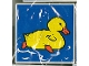 Part No: 2756pb025  Name: Duplo Tile 2 x 2 x 1 with Duck Mosaic Picture 07 Pattern (Set 1078)