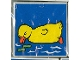 Part No: 2756pb027  Name: Duplo Tile 2 x 2 x 1 with Duck Mosaic Picture 09 Pattern (Set 1078)