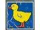 Part No: 2756pb030  Name: Duplo Tile 2 x 2 x 1 with Duck Mosaic Picture 12 Pattern (Set 1078)