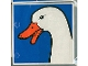 Part No: 2756pb031  Name: Duplo Tile 2 x 2 x 1 with Duck Mosaic Picture 13 Pattern (Set 1078)