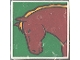 Part No: 2756pb037  Name: Duplo Tile 2 x 2 x 1 with Horse Mosaic Picture 01 Pattern (Set 1078)