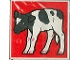 Part No: 2756pb066  Name: Duplo Tile 2 x 2 x 1 with Cow Mosaic Picture 12 Pattern (Set 1078)