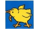 Part No: 2756pb264  Name: Duplo Tile 2 x 2 x 1 with Chicken Mosaic Picture 12 Pattern (Set 1014)