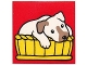 Part No: 2756pb299  Name: Duplo Tile 2 x 2 x 1 with Dog Mosaic Picture 11 Pattern (Set 1078)