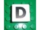 Part No: 2756pb311  Name: Duplo Tile 2 x 2 x 1 with Capital D Pattern