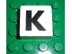 Part No: 2756pb318  Name: Duplo Tile 2 x 2 x 1 with Capital K Pattern