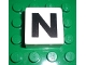 Part No: 2756pb321  Name: Duplo Tile 2 x 2 x 1 with Capital N Pattern