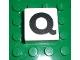 Part No: 2756pb325  Name: Duplo Tile 2 x 2 x 1 with Capital Q Pattern