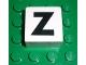 Part No: 2756pb335  Name: Duplo Tile 2 x 2 x 1 with Capital Z Pattern