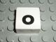 Part No: 2756pb350  Name: Duplo Tile 2 x 2 with Lowercase o Pattern (Set 1018)