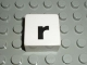 Part No: 2756pb353  Name: Duplo Tile 2 x 2 with Lowercase r Pattern (Set 1018)