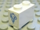 Part No: 3004pb089  Name: Brick 1 x 2 with Michelin Man Pattern on Both Ends (Stickers) - Set 8374