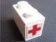 Part No: 3004pb109  Name: Brick 1 x 2 with Red Cross Pattern on Both Ends (Stickers) - Set 606-1