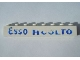 Part No: 3008pb076  Name: Brick 1 x 8 with Blue 'Esso Huolto' Pattern