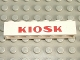 Part No: 3009pb034  Name: Brick 1 x 6 with Red 'KIOSK' Bold Pattern