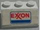 Part No: 3038pb10  Name: Slope 45 2 x 3 with Exxon Logo Pattern (Sticker) - Set 554