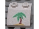 Part No: 3039pb022  Name: Slope 45 2 x 2 with Palm Tree Pattern