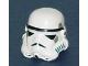 Part No: 30408p01  Name: Minifigure, Headgear Helmet SW Stormtrooper Pattern