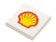 Part No: 3068bpb0001  Name: Tile 2 x 2 with Shell Logo Pattern