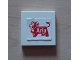 Part No: 3068bpb0296  Name: Tile 2 x 2 with Arla Dairy Logo Pattern (Sticker) - Set 1581