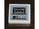 Part No: 3068bpb0305  Name: Tile 2 x 2 with Groove with SW Star Destroyer Control Panel Pattern Port Side (Sticker) - Set 6211