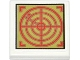 Part No: 3068bpb0835  Name: Tile 2 x 2 with Groove with Red Radar Screen on Olive Green Background Pattern (Sticker) - Set 79121
