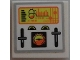 Part No: 3068bpb1096  Name: Tile 2 x 2 with Control Panel and Gauges Pattern (Sticker) - Set 7644