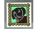 Part No: 3068bpx17  Name: Tile 2 x 2 with Groove with Dog Portrait Pattern