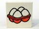 Part No: 3068pb23  Name: Tile 2 x 2 with Fabuland Eggs Pattern