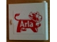 Part No: 3194pb05  Name: Door 1 x 5 x 4 Right with Arla Dairy Logo Pattern (Sticker) - Set 1581-2