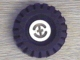 Part No: 3482c03  Name: Wheel with Split Axle hole, with Black Tire 17 x 43 (3482 / 3634)