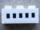 Part No: 3622pb073  Name: Brick 1 x 3 with 5 Windows Pattern (Sticker) - Set 1660