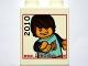 Lot ID: 21625380  Part No: 4066pb366  Name: Duplo, Brick 1 x 2 x 2 with www.LEGOclub.com 2010 Max Extending Hand Pattern