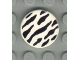 Part No: 4150px15  Name: Tile, Round 2 x 2 with Zebra Stripes Pattern