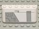 Part No: 4176pb15  Name: Windscreen 2 x 6 x 2 with SW Gunship Panel Pattern Upper Left (Sticker) - Set 7163