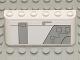 Part No: 4176pb16  Name: Windscreen 2 x 6 x 2 with SW Gunship Panel Pattern Upper Right (Sticker) - Set 7163