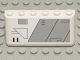 Part No: 4176pb18  Name: Windscreen 2 x 6 x 2 with SW Gunship Panel Pattern Lower Right (Sticker) - Set 7163